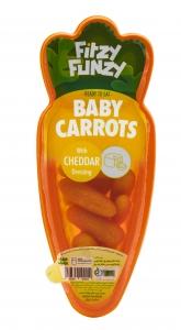 هویج فرمی با سس سلامت چدار