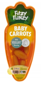 هویج فرمی با سس سلامت ماستی